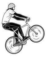 Как научиться ездить на заднем колесе