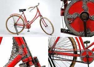самый дорогой в мире велосипед Tiffany