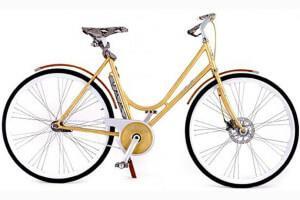 самый дорогой в мире велосипед Montante Luxury Gold Collection
