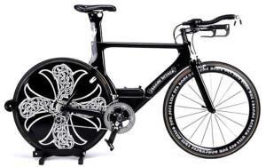самый дорогой в мире велосипед Chrome Hearts x Cervelo Bike