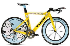 самый дорогой в мире велосипед Trek Yoshitomo Nara Speed Concept