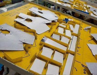 Заготовки карбоновых деталей для каретки