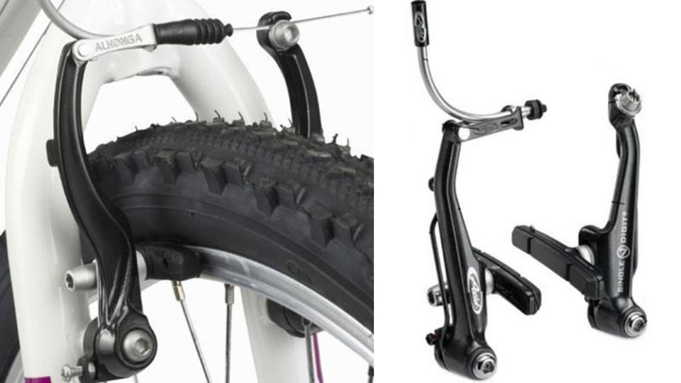 Ободный тормоз велосипеда