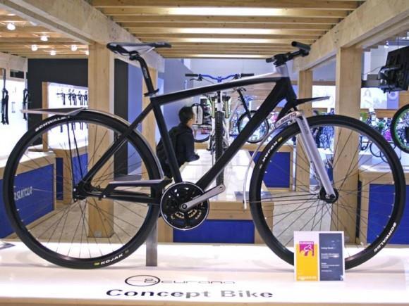 Амортизационная вилка для шоссейного велосипеда SR Suntour Swing Shock