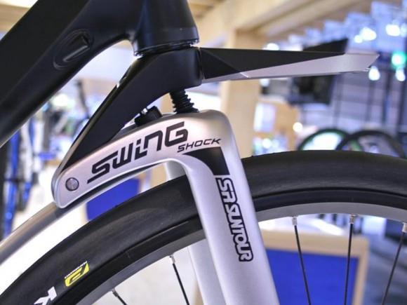 Амортизационная вилка для шоссейного велосипеда