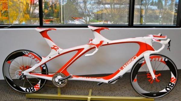 Велосипед тандем из карбона