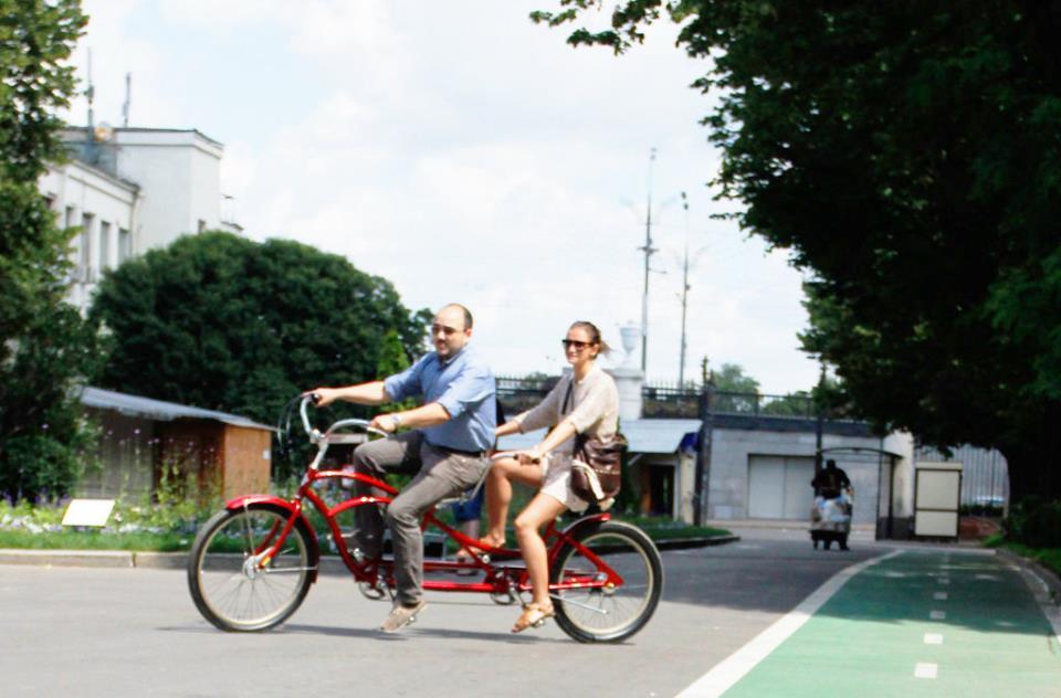 Фото велосипеда тандема