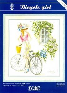 Dome 110804 Bicycle Girl