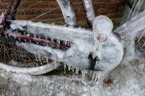 Обслуживание велосипеда зимой