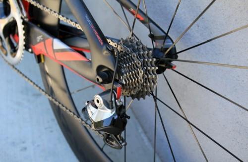 ремонт заднего колеса горного велосипеда фото