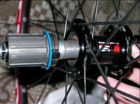 ремонт заднего колеса горного велосипеда фото 1