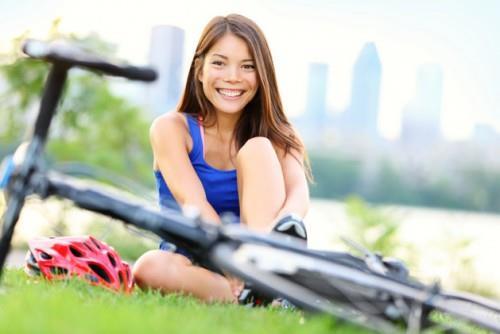 польза велосипеда для женщин фото