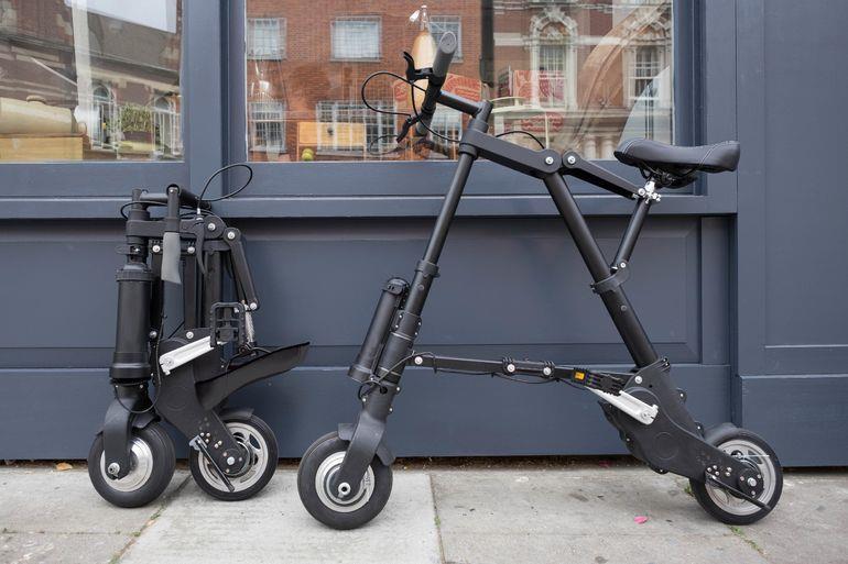 A-Bike Electric самый маленький и легкий электрический велосипед