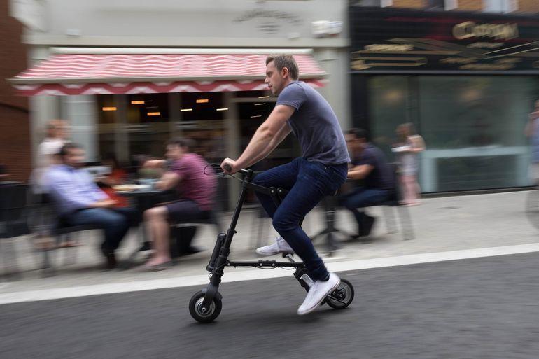 A-Bike Electric самый маленький и легкий электрический велосипед. Facepla.net последние новости экологии