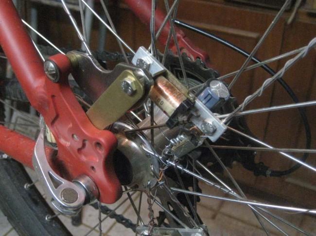 Светящиеся колёса на велосипеде своими руками
