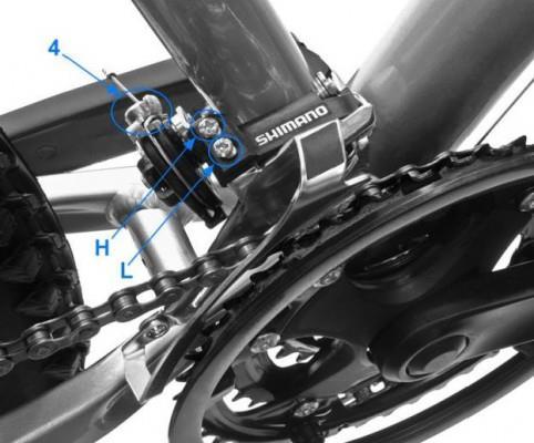 как настроить переключение скоростей на велосипеде фото 1