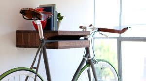 крепеж полка для хранения велосипеда в квартире