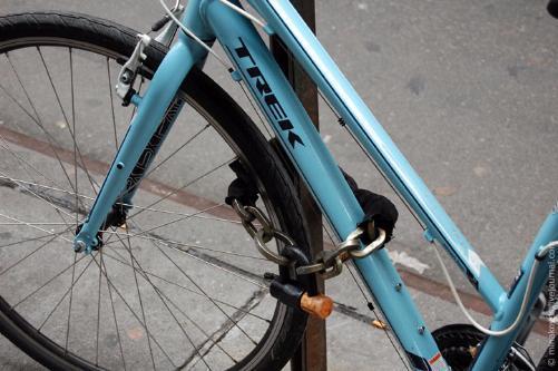 Противоугонная каленая цепь для велосипеда