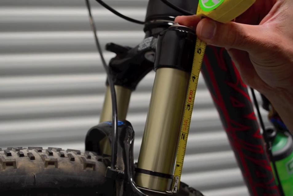 Настройка вилки велосипеда
