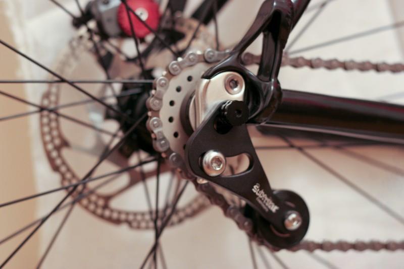 регулировка натяжения цепи на велосипеде