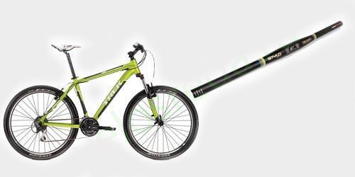 Регулировка руля горного велосипеда