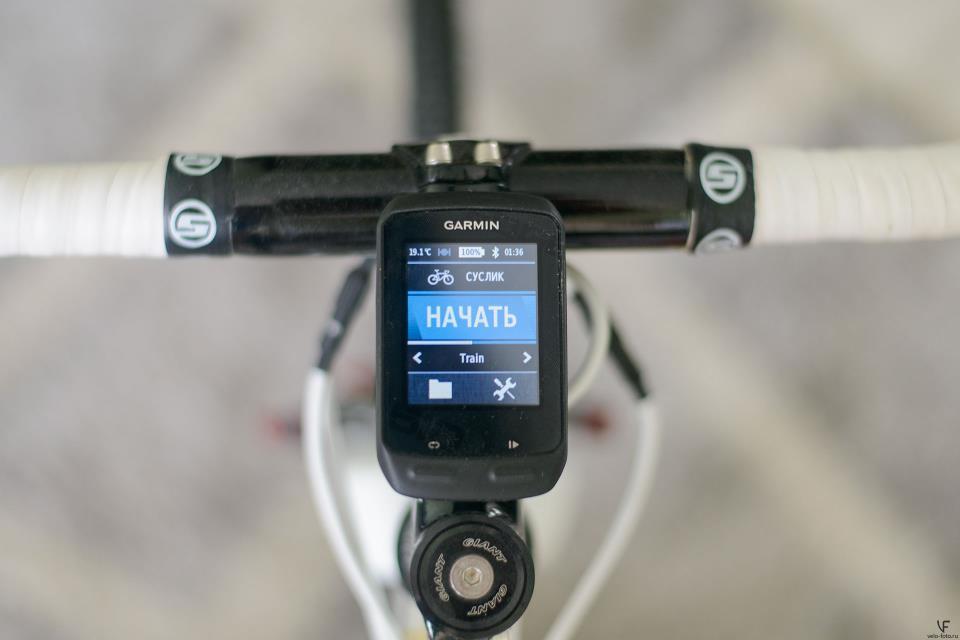 Велокомпьютер Garmin (кликабельно).