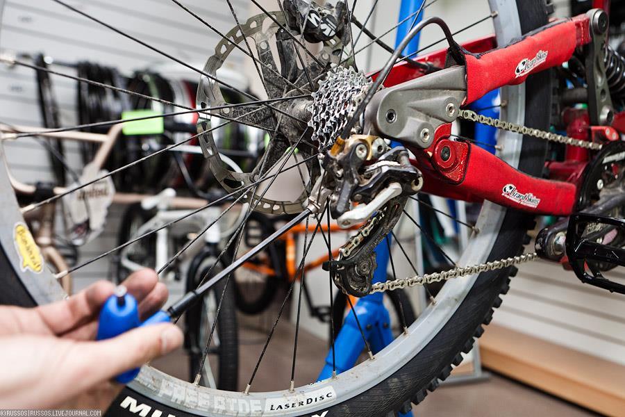 Как разобрать каретку на горном велосипеде