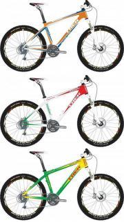 Пример расцветки горного велосипеда Trek в программе Project One