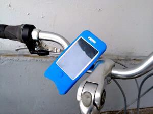 пластиковый держатель котик для iphone 5, 4, 4s