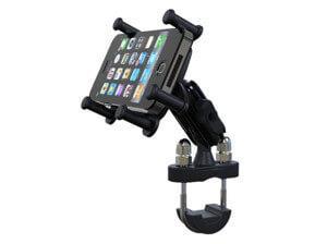 металлопластиковый держатель на велосипед для iphone 5