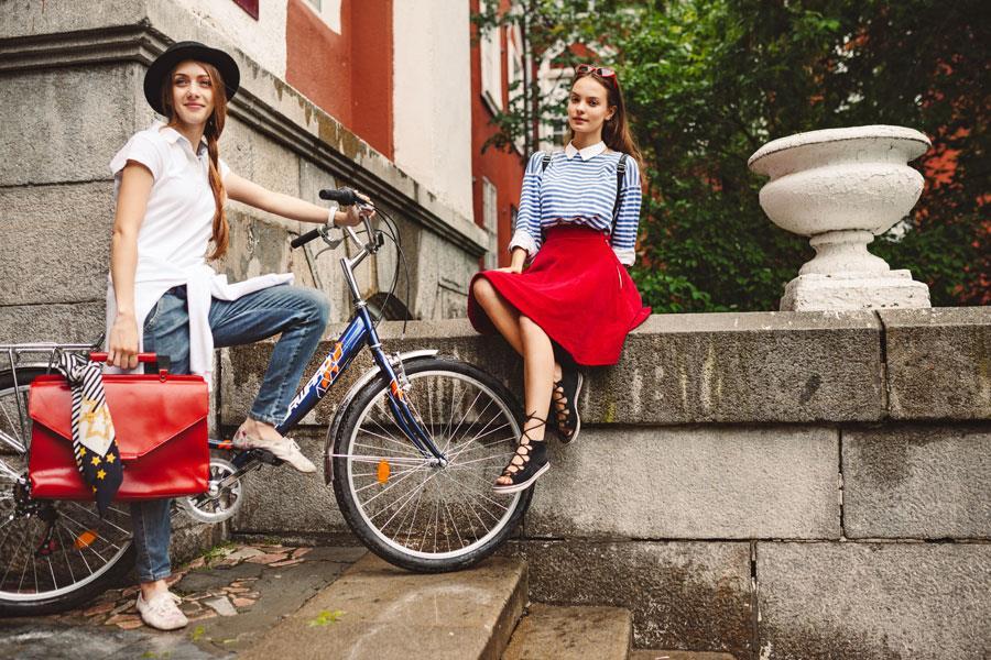 Женский складной велосипед Forward Sevilla управляется силой мысли