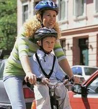 Сиденье велосипедное - переднее