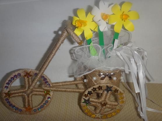 МК «Велосипед из шпагата»