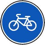 Знак 4.4.1 Велосипедная дорожка или полоса для велосипедистов