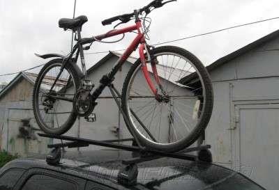 велобагажник на крышу автомобиля