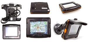 Внешний вид GPS навигатор для велосипеда и мотоцикла