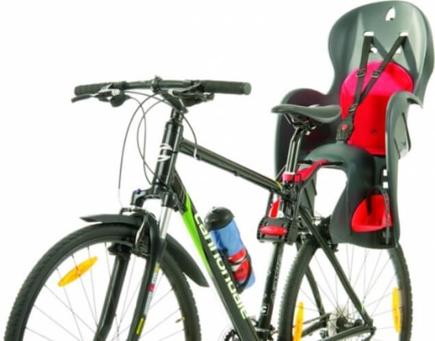 Велокресло на подседельный штырь