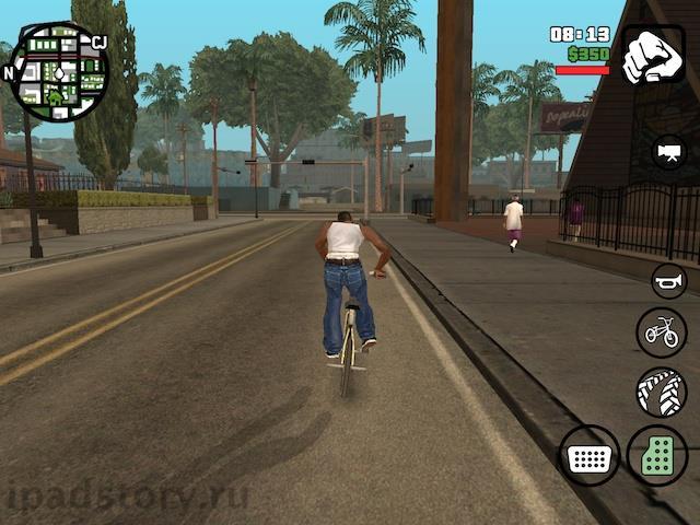 GTA: San Andreas iPad
