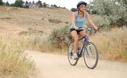 Сколько калорий сжигается на велосипеде за час езды