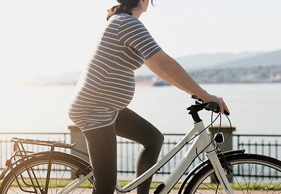 Почему нельзя кататься на велосипеде во время беременности
