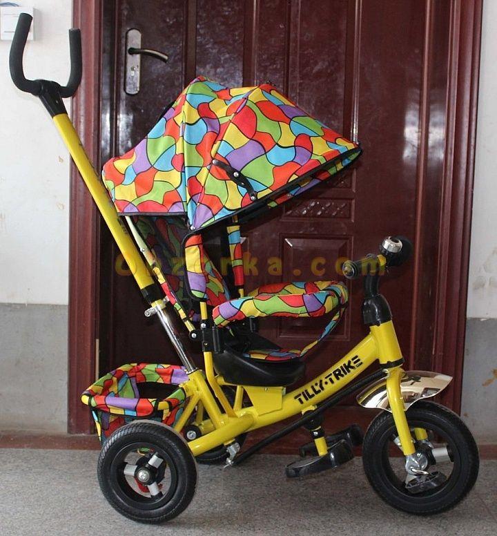 Детский велосипед TILLY TRIKE c регулируемым наклоном спинки