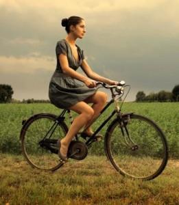 заблудится на велосипеде