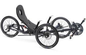 трехколесный лежачий велосипед - лигерад