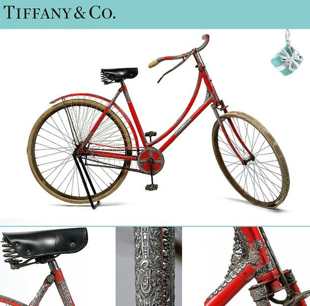 Tiffany & Co. Bicycle самый дорогой женский велосипед фото