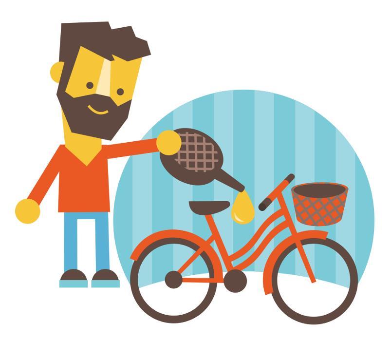 Подготовка велосипеда к зимнему катанию