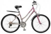 Комфортный женский велосипед с заниженной рамой