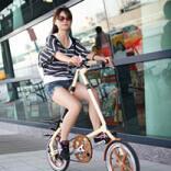 Велосипед складной компактный взрослый
