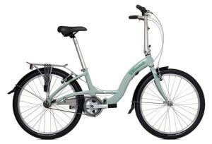 Женский складной велосипед Briza D3/D7