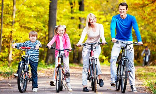 Выбирая велосипед, ваше тело будет подтянутым