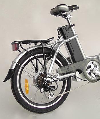 Заднее колесо с мотором - складного велосипеда Motus GS new